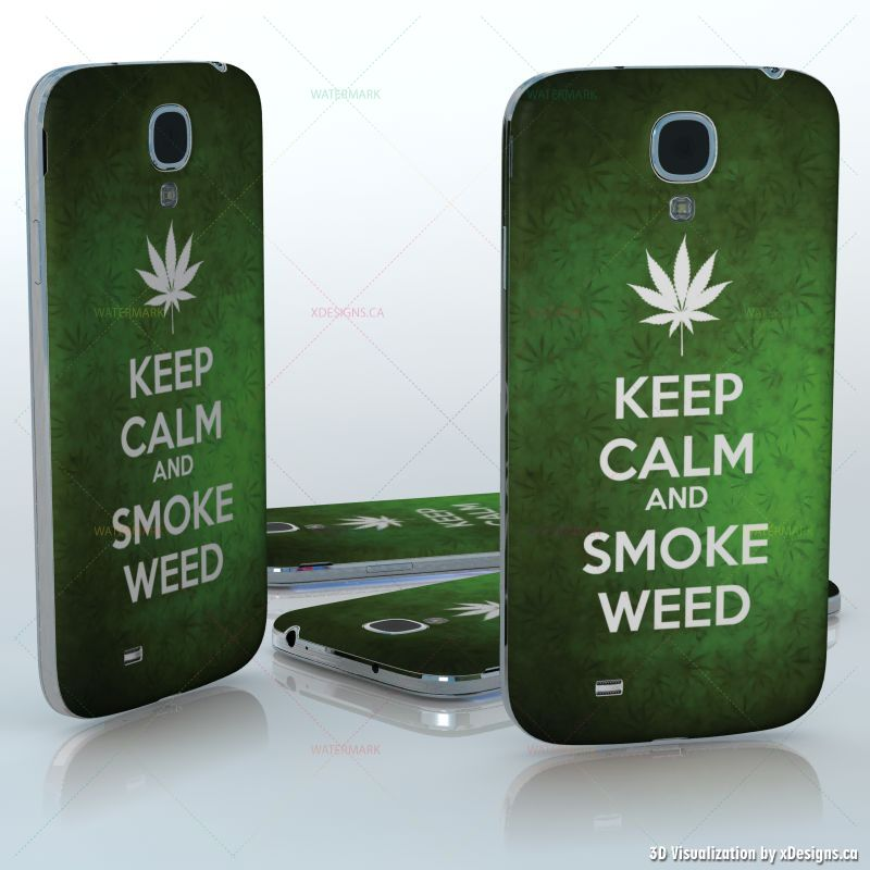 Keep calm and smoke weed green weed background with a white leaf click on thumbnail to magnify voltagebd Gallery